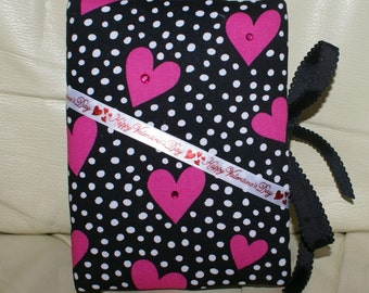 CLEARANCE SALE - Happy Valentines Day Padded Fabric Photo Album