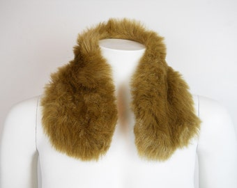 VTG Faux Fur Plush Furry Soft Collar