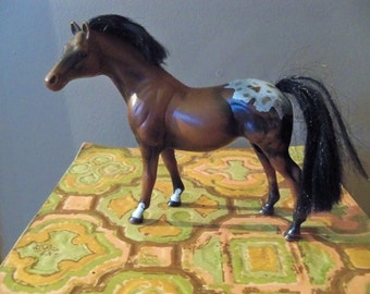 march on plastic toy horse 1988 possible empire grand champion