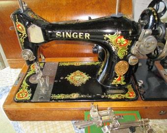 Antique Singer 1924 Sewing Machine
