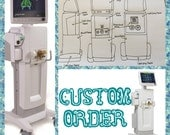 CUSTOM ORDER- Reserved for mikecork-  Custom Plush Ventilator- Stuffed Toy Machinery