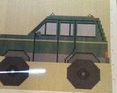 Custom Jeep Cherokee Twin Afghan