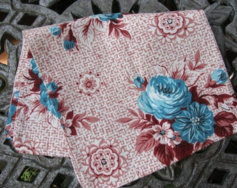 Olde Farmhouse Find ~ Vintage Feedsack turned into a small pillowcover