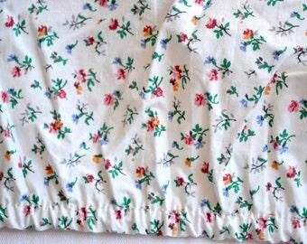 Ralph Lauren Bed Sheet - Petite Wildflowers - Twin Fitted Beach Plum
