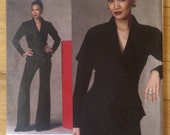 Vogue 1143 Paris Designer Original Guy Laroche Jacket and Pants • size 4-10
