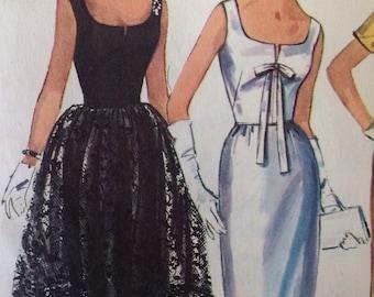 Vintage Simplicity 5716 Dress and Peplum • size 7jp