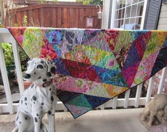 Lap Quilt Kaffe Fassett Brandon Mably Phillip Jacobs Handmade Gorgeous Fabrics