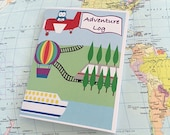Kid's Travel Journal, Travel Activity, Travel Game, Kid's Gift, For Kids Ages 3-6 and 7-10