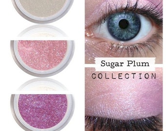 Eyeshadow Kit - Pink - Mineral Makeup Eyeshadow - Eye Shadow Kits Palettes - Natural MAC Cosmetics - Eye Makeup Sets - Vegan Cruelty Free