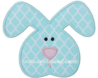 835 Boy Bunny 2  Machine Embroidery Applique Design