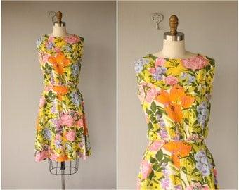 60s Floral Dress | 60s Day Dress | 1960s Dress | 1960s Floral Dress | Vintage 60s Dress | Vintage Floral Dress