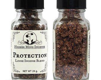 Protection - Sacred Loose Incense / frankincense / Copal / Dragon's Blood / ritual incense