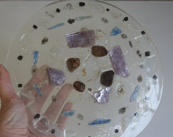 Extra-Large Sacred Geometry Orgone Plate for Energy Healing, Emotional Empowerment and Alignment