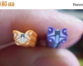 50% OFF - BUTTERFLIES - 2 Polymer Clay Cane