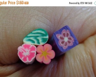 50% OFF - NATURE - 4 Polymer Clay Cane