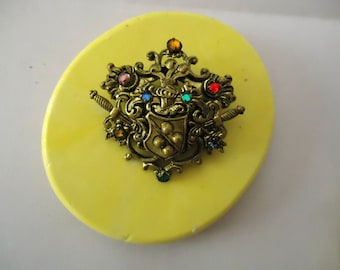 1 Coat of Arms 3-D  Designs Food Grade Silicone Molds 3-D Clay Craft