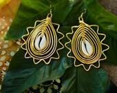 Sun Empress Statement earrings