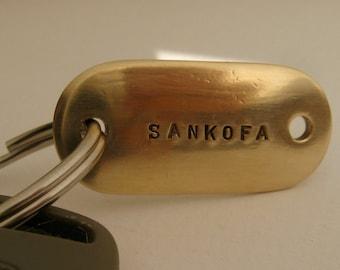Sankofa /Carpe Diem Key Ring/ Black History Month/African History Month