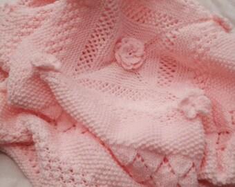 Little Dreamer Baby Shawl/Blanket Knitting Pattern