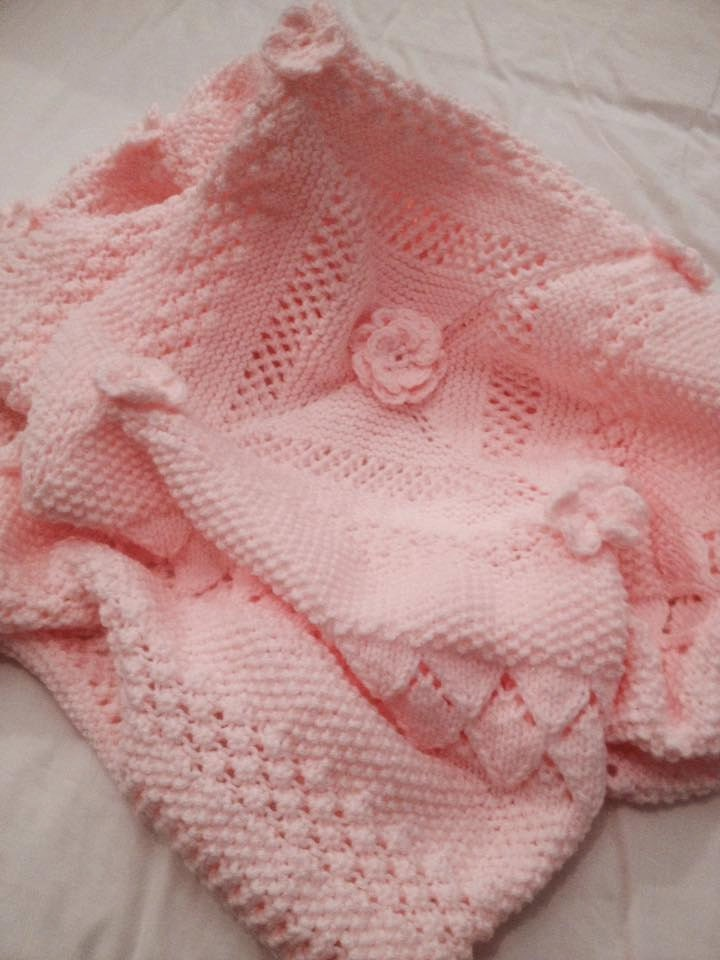 Little Dreamer Baby Shawl/Blanket Knitting Pattern