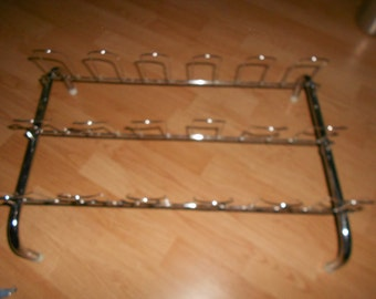 Chrome Shoe Rack Organizer