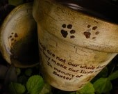 Personalized Pet Memorial - RESERVED FOR DAISY