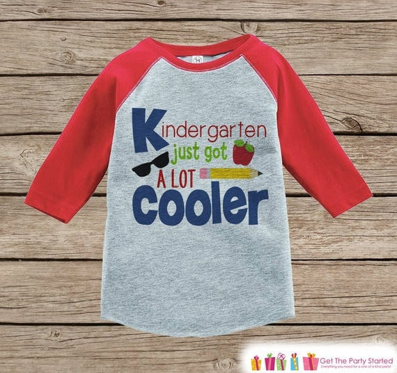 Boys Back To School Shirt 1st Day Of Kindergarten Outfit