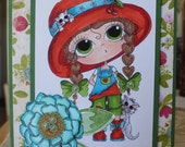 Handmade, Handcrafted,  Paper ,Greeting, Card