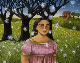 La Sonnambula / The Sleepwalker (Original painting SOLD) - print available