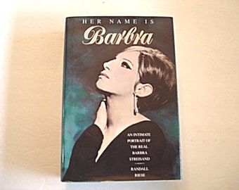 Her Name Is Barbra, Barbra Streisand, Streisand Bio, Movie Star Bio, Funny Girl, The Way We Were, Barbra Streisend Book, Streisand Biography