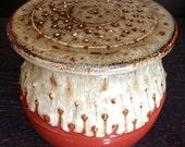 Handmade Ceramic Butter Crock