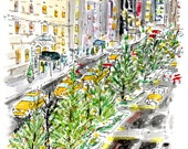 Park Avenue Holiday Note-cards