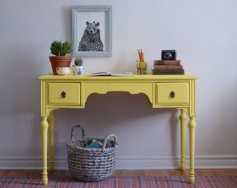 Yellow Desk