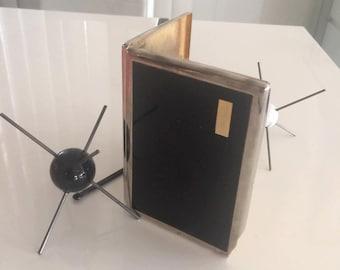 Vintage Mid Century Era Colbrini Cigarette Case with Insertable Lighter