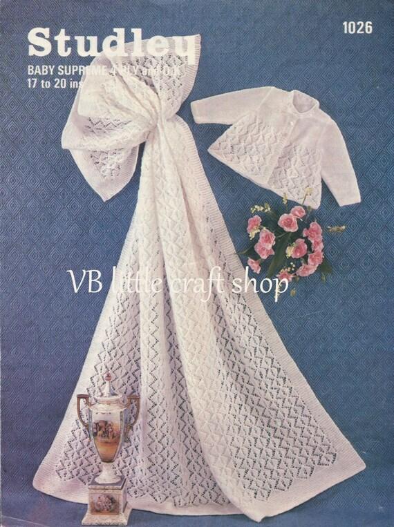 Baby Jacke und Schal stricken Muster. Direkten PDF Download