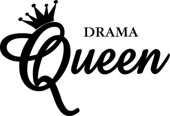 Items Similar To Vinyl Quote Drama Queen Special Buy Any
