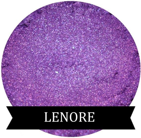 Purple Eyeshadow LENORE Mineral makeup