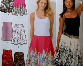 Skirt Sewing Pattern UNCUT Simplicity 4236 Sizes 12-20 Plus Size
