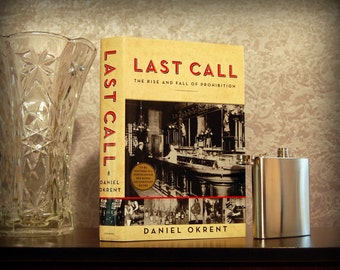 Hollow Book Safe & Flask (Last Call: The Rise and Fall of Prohibition)