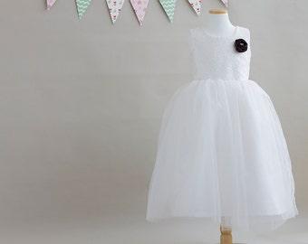 no 1075 Lucille Flower Girl Dress (3M~24M) PDF Pattern
