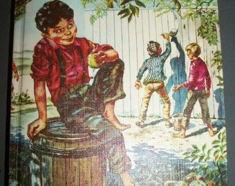 Vintage Tom Sawyer Book by Whitman Classics