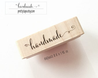 Calligraphy Handmade Stamp or Custom Stamp (check detail before ordering 2-3 WEEKS processing for CUSTOM)