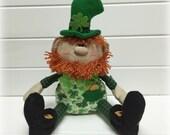 St. Patrick's Day decor | St. Patricks day decoration | Leprechaun doll | Irish decoration | St. Patricks day doll | Celtic decor