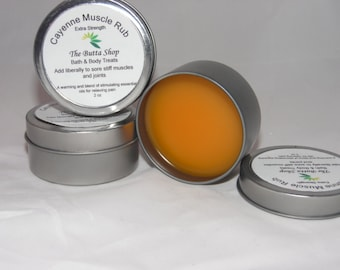 Extra strength Cayene Muscle and Joint rub