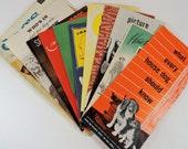 Vintage Dog Brochures / Vintage Dog Ephemera / Vintage Pamphlets