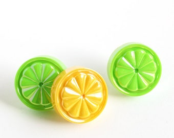 Lemon and Lime Cupcake Picks, Summer Cupcake Picks (12)