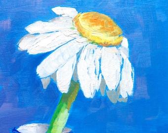 """6""""x6"""" Daisy Painting"""