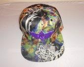Snapback Flat-Brim Hat - 3D Scarab (One of a kind)
