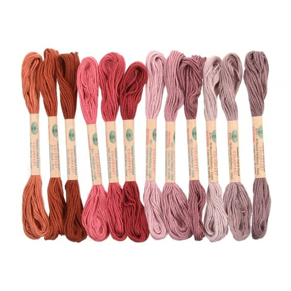 12 Valdani 6 Strand Floss Embroidery Thread As Time Goes By