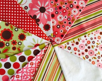 SuperBowl Sale Discontinued Indian Summer from Riley Blake, last stack of 10 Fat Quarter bundle